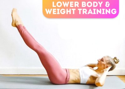 Lower body and Weight training