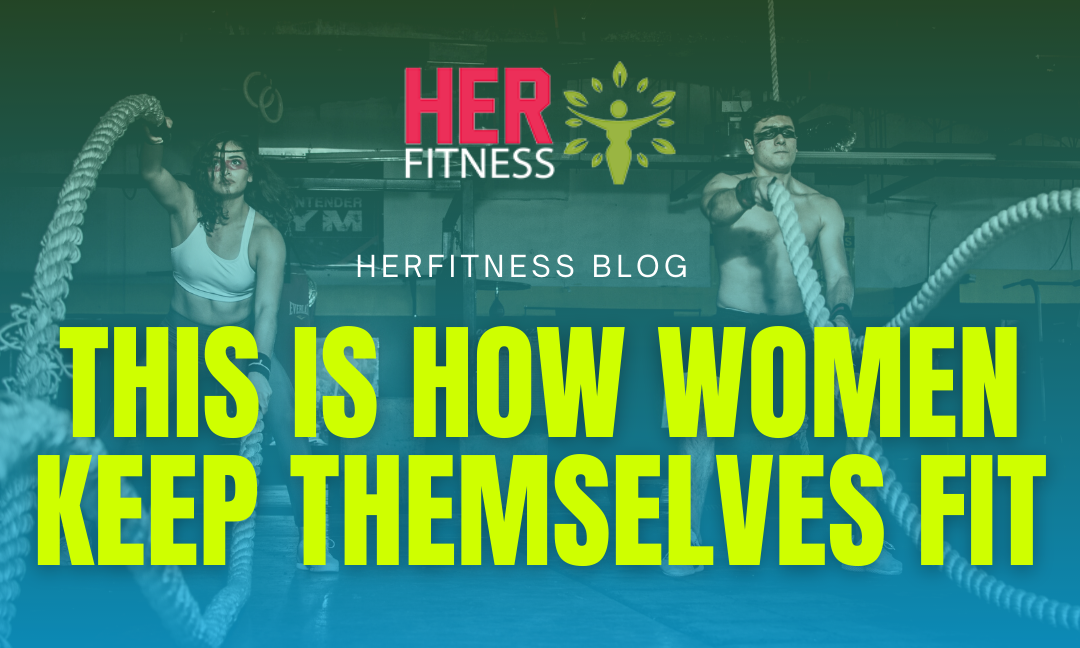 Stay young and healthy: This is how women keep themselves fit